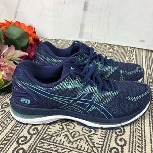 ASICS Women's Gel Nimbus 20 Blue 9.5 like new